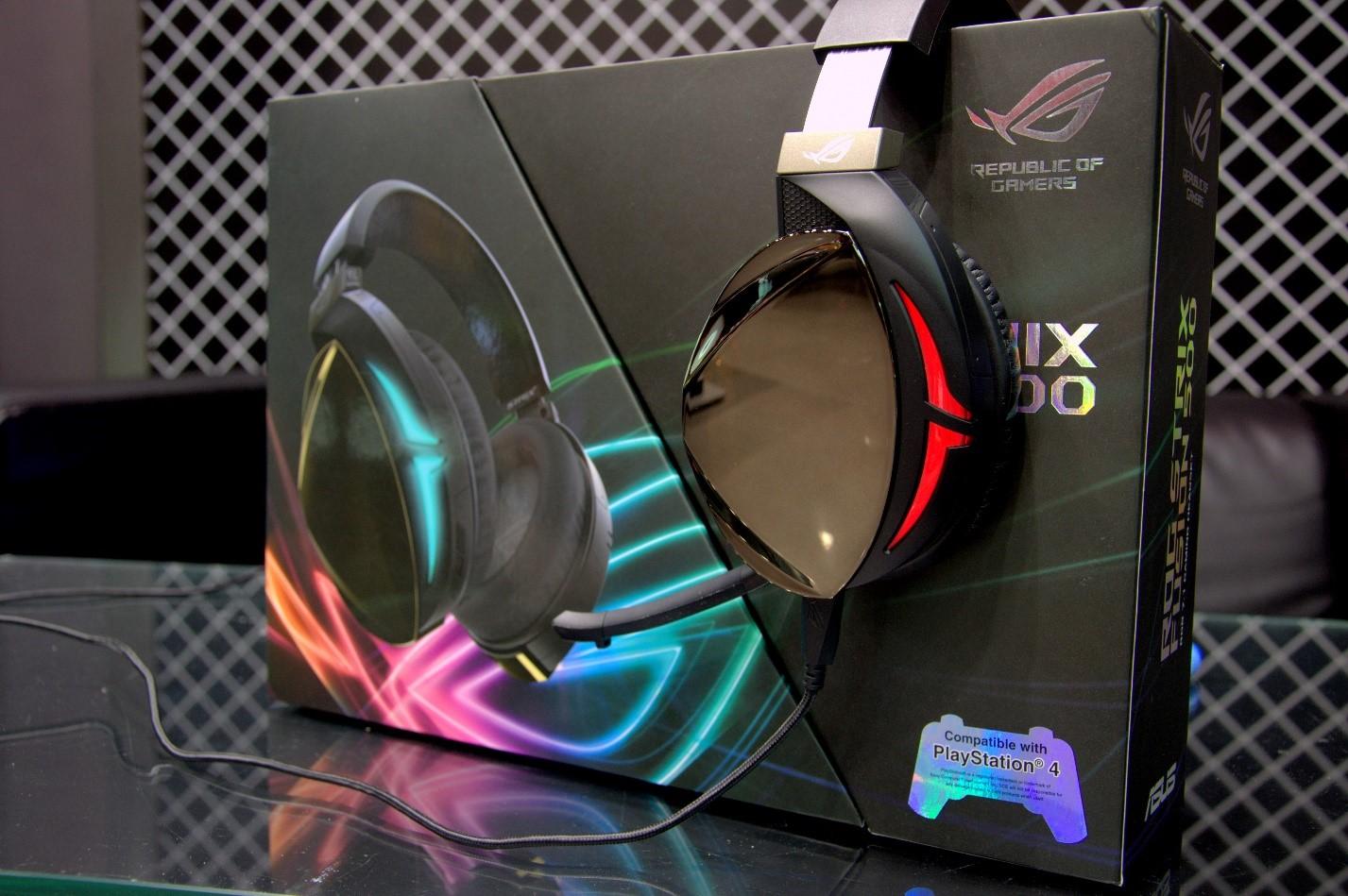Игровая гарнитура ROG Strix Fusion 500 гарнитура и коробка