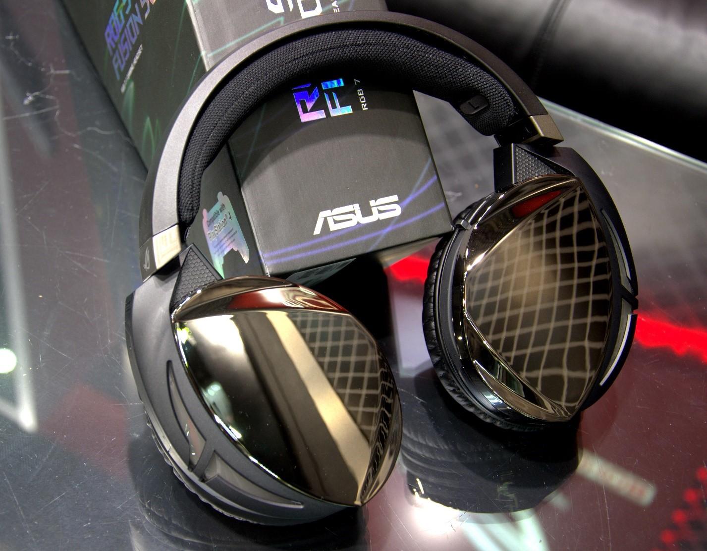 Игровая гарнитура ROG Strix Fusion 500 внешний вид гарнитуры